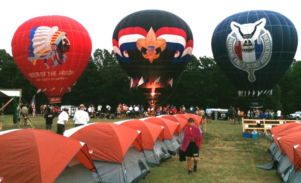 Boy Scout Balloons